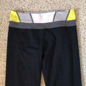 Lululemon Reversible Groove Yoga Pants.
